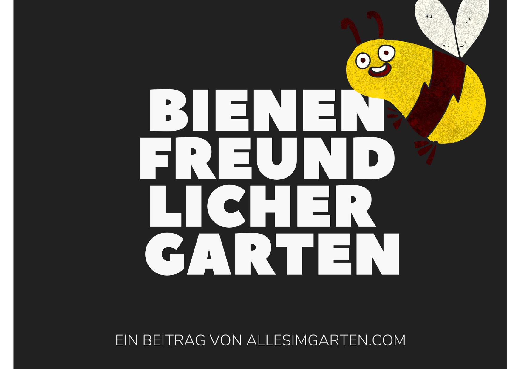 Bienen Logo allesimgarten